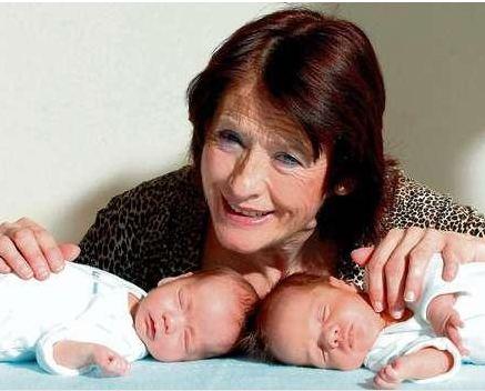 En Yaşlı Anne Olan Kadınlar